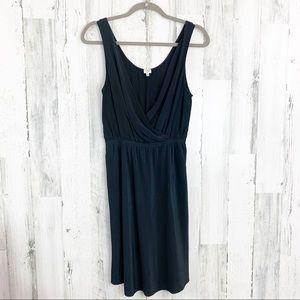 Aritzia Wilfred Silk Sleeveless Little Black Dress